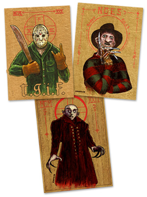 Religious Horror Icons now available!