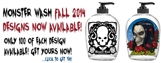 Monster Wash Fall 2014 bottles now available!